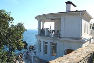 Алупка. Гостиница Сон у моря