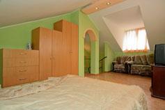 Отель Зеленый мыс. Двухуровневый домик