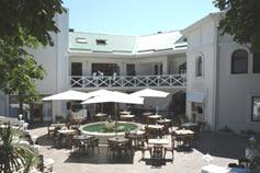 Алупка. Гостиница Mare-Nero. Летняя площадка