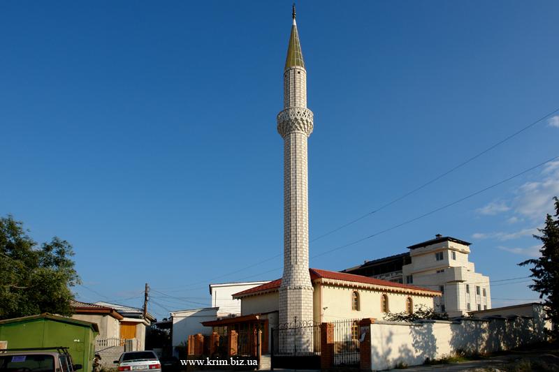 Алушта. Соборная мечеть Аша-Джами