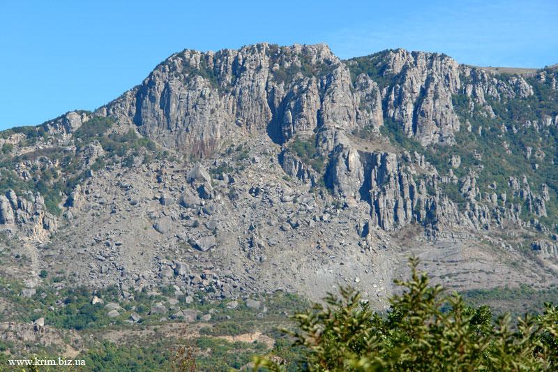 Алушта, гора Кузнец фото