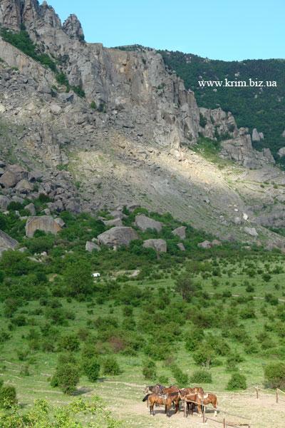Южная Демирджи, долина Привидений