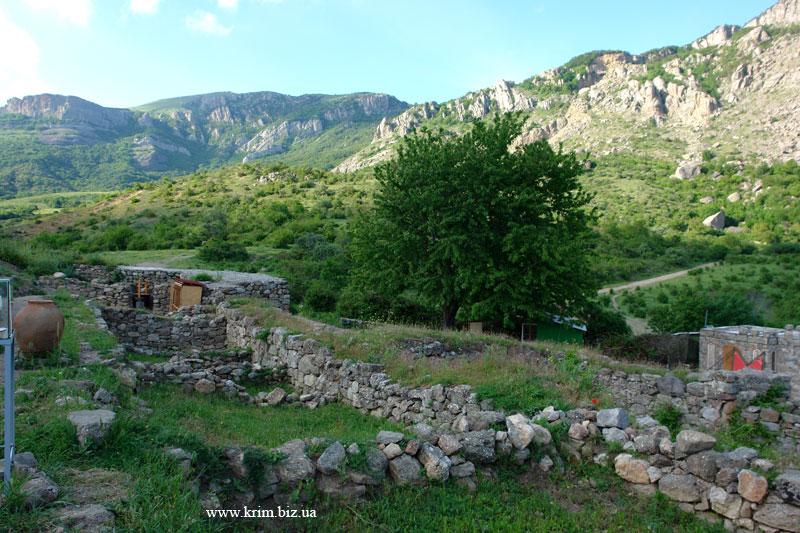 Развалины крепости Фуна