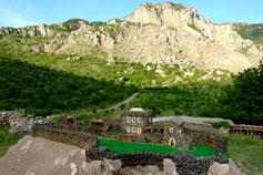 Макет крепости Фуна