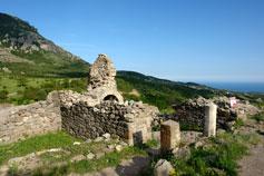 Крепость Фуна. Вид на море