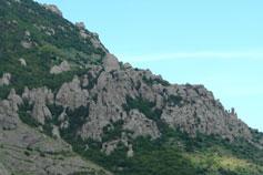 Гора Демерджи, Долина Привидений