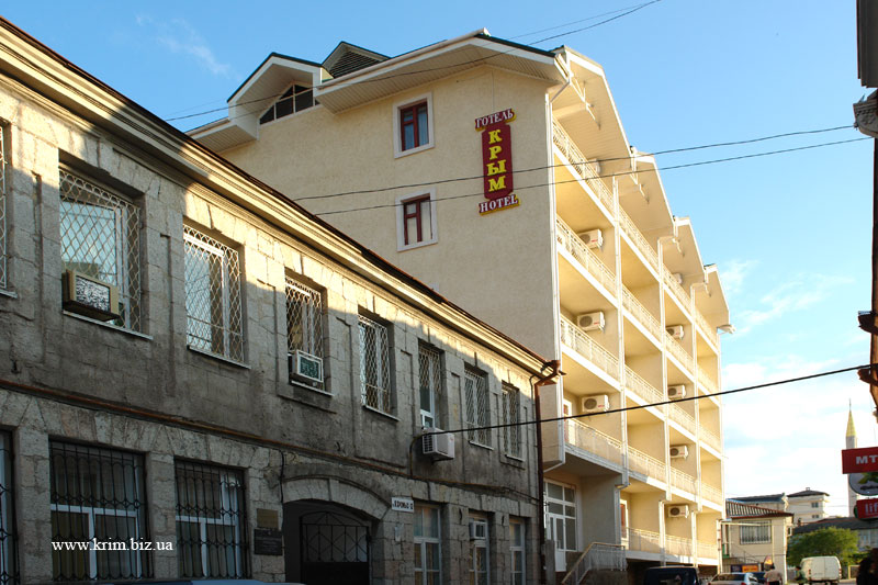 Алушта отель Крым