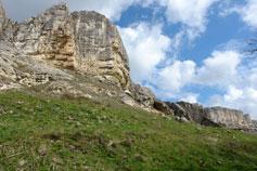 Горы близ Бахчисарая