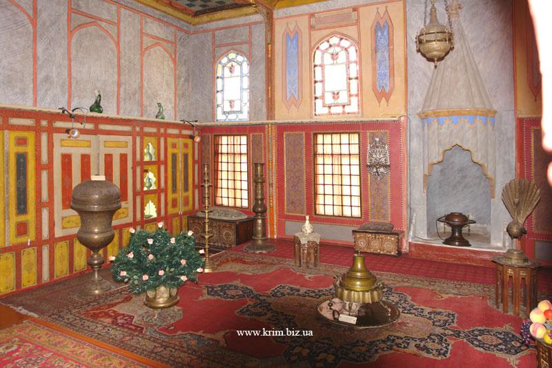 Бахчисарай. Ханский дворец. Гостиная комната