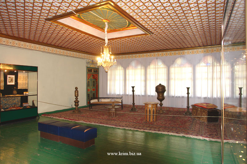 Бахчисарайский дворец. Екатерининская комната