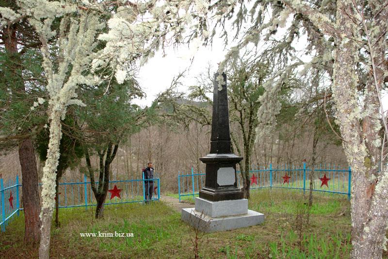 Партизанский мемориал погибшим в боях за Советскую родину 1941-1944