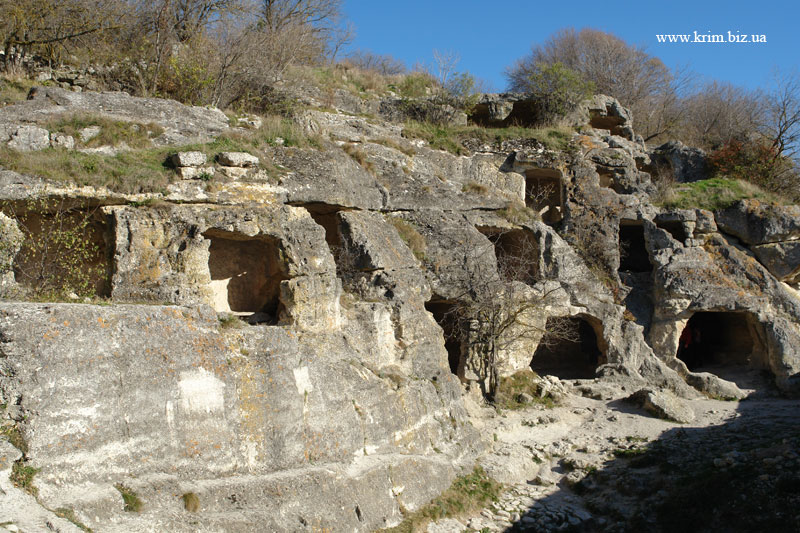 Чуфут-Кале. Пещерный монастырь