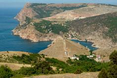 Балаклава - фото с горы Аскетис