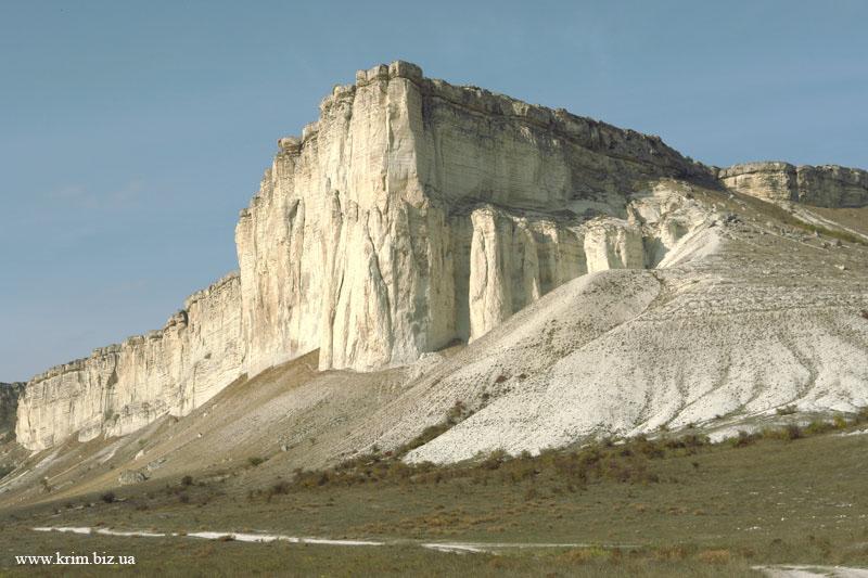 Гора Белая в окрестностях Белогорска