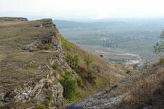Вид с плато Белой Скалы