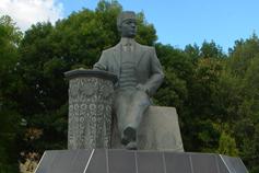 Белогорск. Памятник Бекиру Гобан-Заде