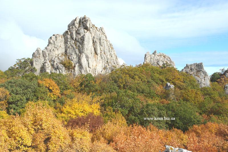 Биюк-Исар. Осень в Крыму