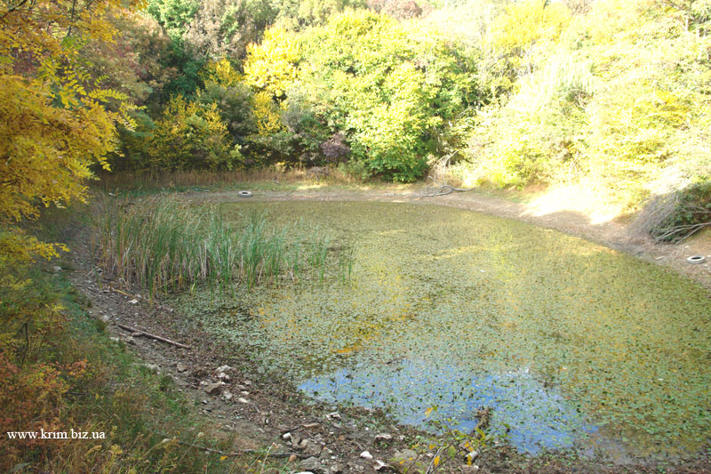 Кикинеизское озеро Биюк-Исар