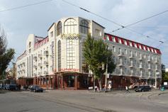 Евпатория. Отель Украина Палас
