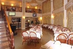 Гостиница (отель) Империя в Евпатории. Ресторан