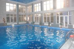 Гостиница (отель) Империя в Евпатории. Бассейн
