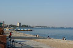 Крым, Феодосия, пляж, море