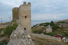 Крым. Феодосия. Генуэзская крепость