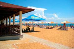 Феодосия. Золотой пляж