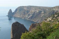 Черное море. Мыс Фиолент