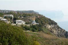 Вид на Георгиевский монастырь