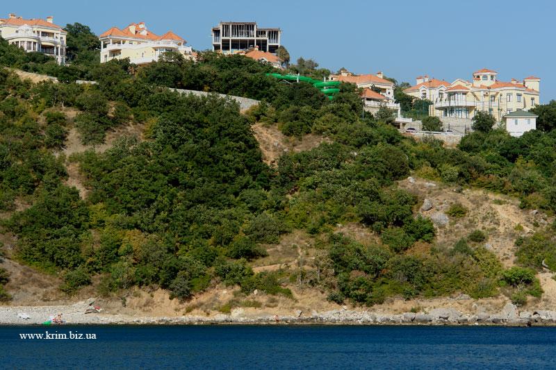 Форос, фото домов богачей