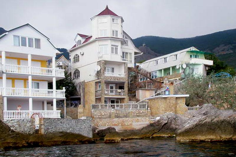 Форос. Дом у моря с пляжем. Вилла Реоли