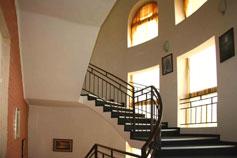 Гостиница отель Ямал в Гурзуфе. Территория