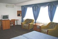 Гостиница отель Ямал в Гурзуфе. Номер Полулюкс