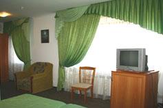 Гостиница отель Ямал в Гурзуфе. Номер Стандарт