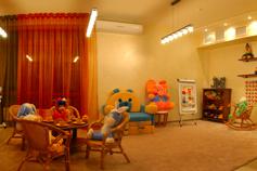 Гурзуф. Гостевой дом Thyssen House. Детская игровая комната