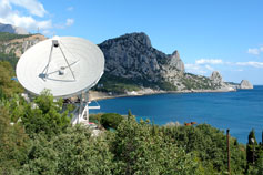 Кацивели. Радиотелескоп
