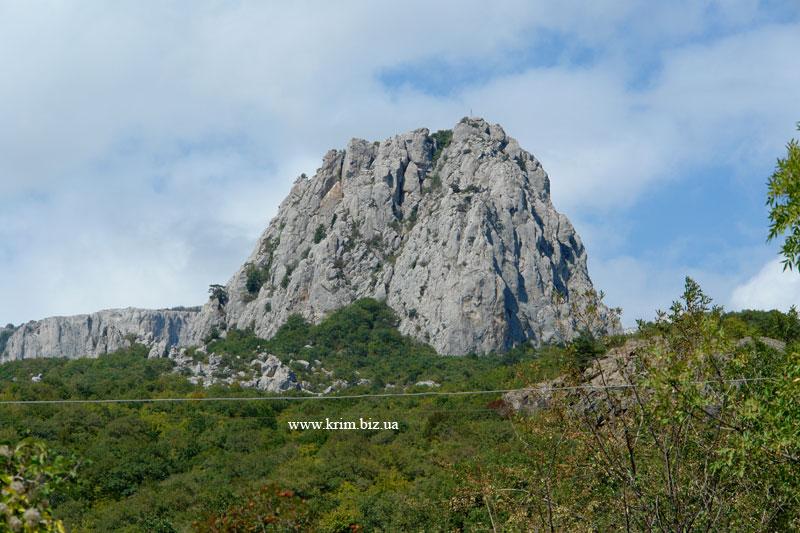Кацивели, гора Партизанка или Голова Сталина, Биюк-Исар