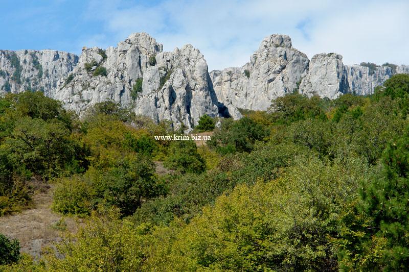 Кацивели, скалы-отторженцы