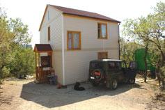 Кацивели. Двухэтажный частный дом