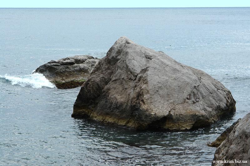 Береговое, фото, морской пейзаж с камнями