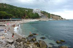 Кастрополь. Пляж