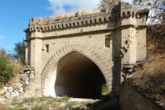 Крепость Керчь. Ворота Минского люнета с моря