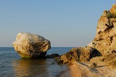 Азовское море. Скалы