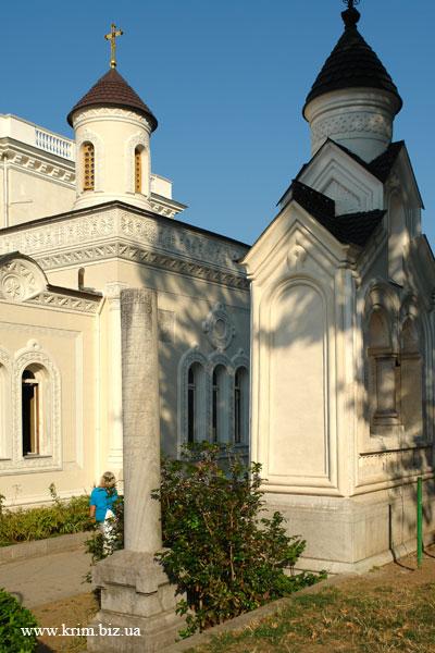Ливадия. Императорская часовня