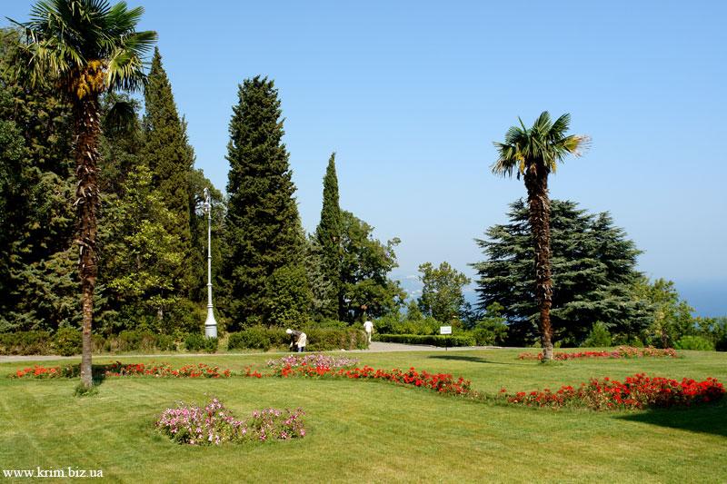 Ливадийский дворец. Парк