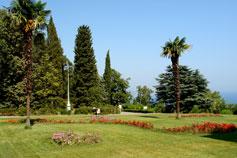 Большая Ялта. Ливадийский дворец. Парк