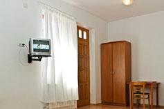 Частная мини-гостиница Ливадия. Двухместный номер с удобствами в номере, и балконом