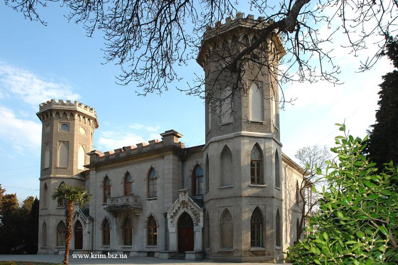 Санаторий Ясная Поляна дворец графини Паниной 19 века