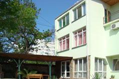 Двухэтажный коттедж под ключ в Гаспре (Мисхоре)